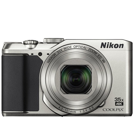 Nikon Coolpix A900 Wi-Fi Camera - 4K Ultra HD,35X Zoom