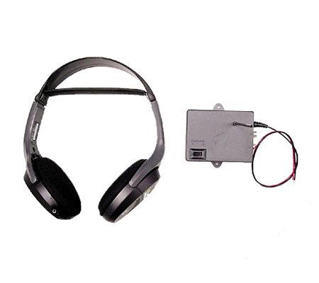 Jensen KVHX40 Wireless 900MHz Headphones With Transmitter
