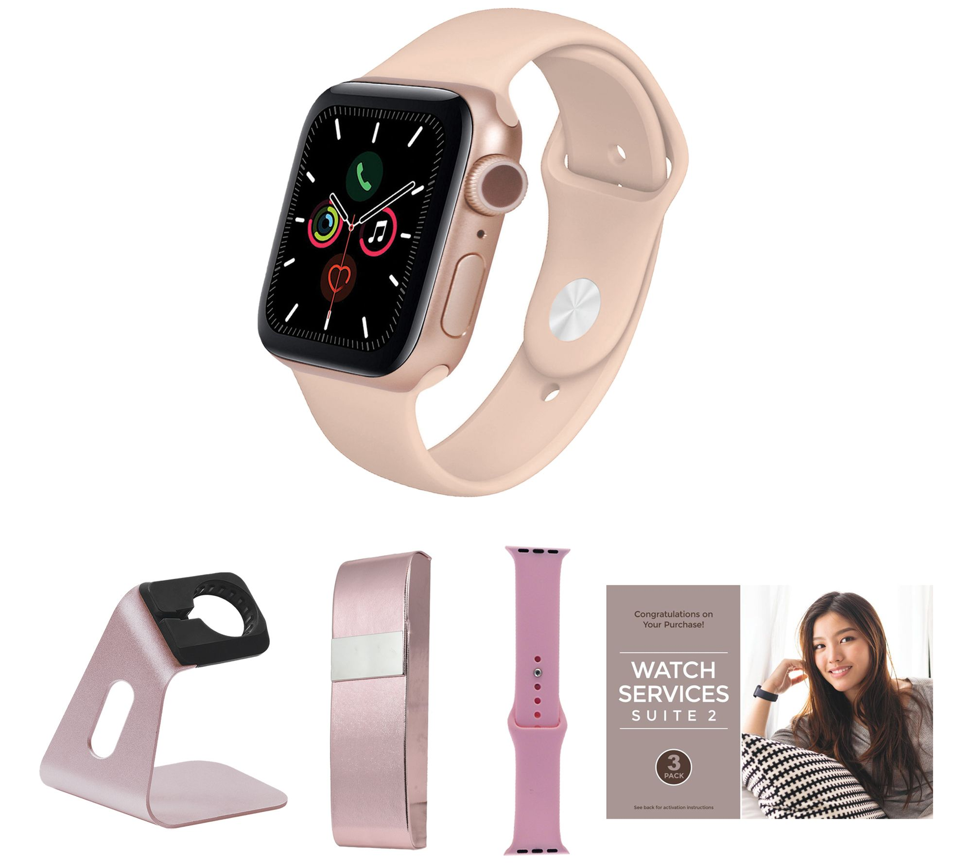 Apple Watch Series 6 GPS 40mm Smartwatch with Accessories - QVC.com