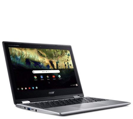 Acer Chromebook Spin 11 2 In 1 Laptop Intel Celeron 4gb Ram