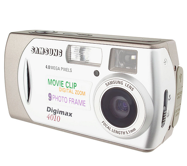 Samsung Digimax 4.0 Megapixel Digital Camera w/Movie Mode & 1.6 ...