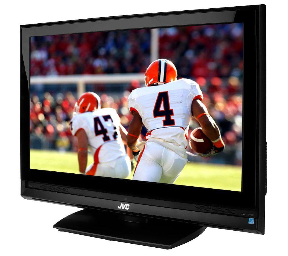 jvc 42 diag widescreen lcd high definition tv w genessa page 1 rh qvc com