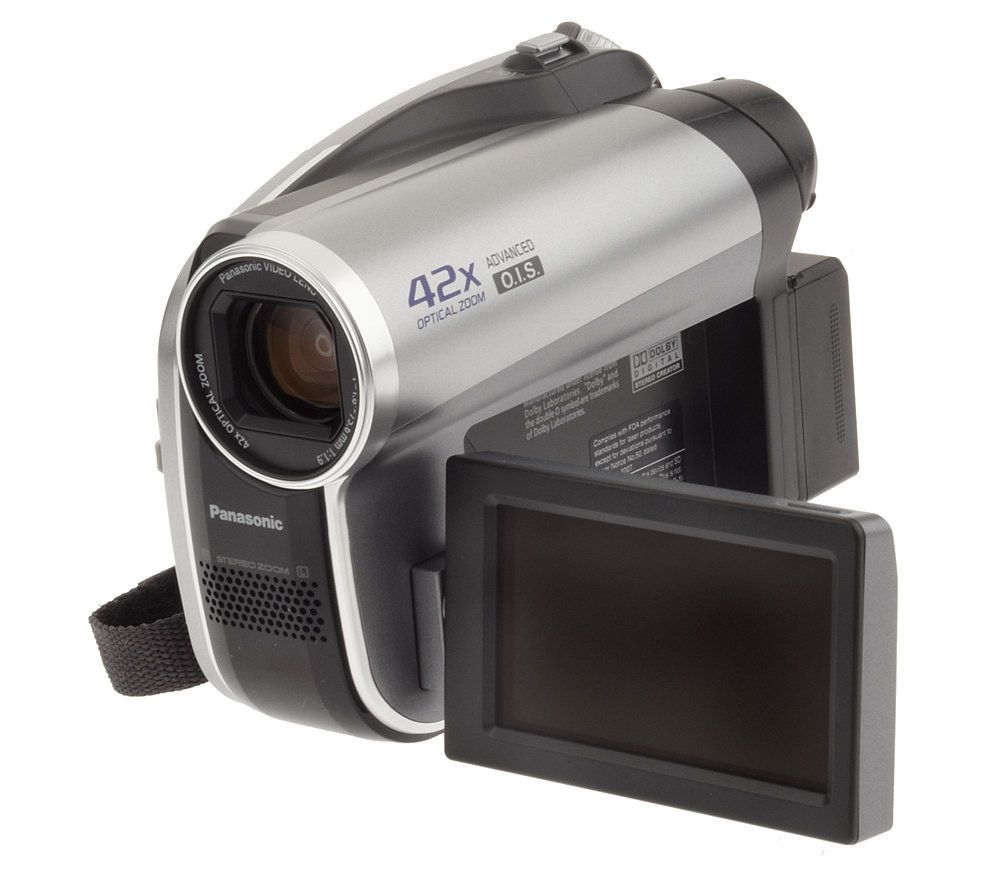 panasonic 42x opticalzoom dvd camcorder with advanced o i s qvc com rh qvc com Clear Image Zoom vs Optical Zoom Panasonic HDD 42X Optical Zoom