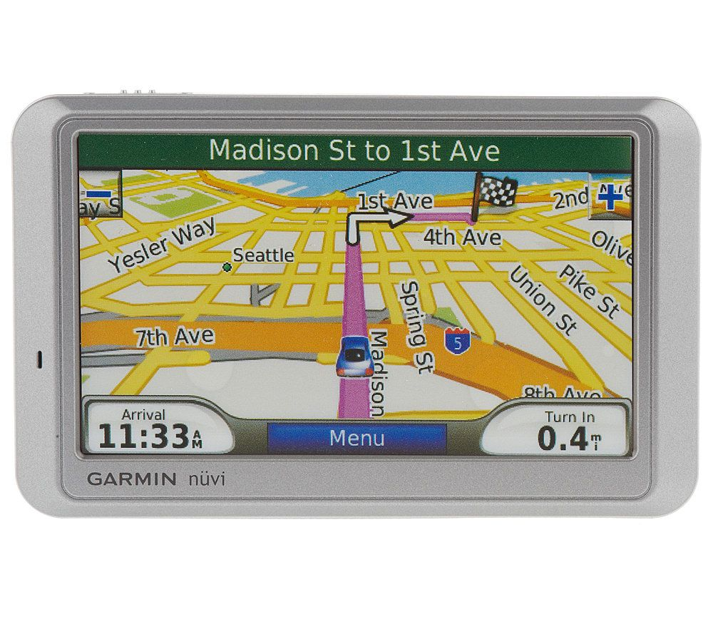garmin nuvi 750 gps navigation system with 4 3 screen and text to rh qvc com