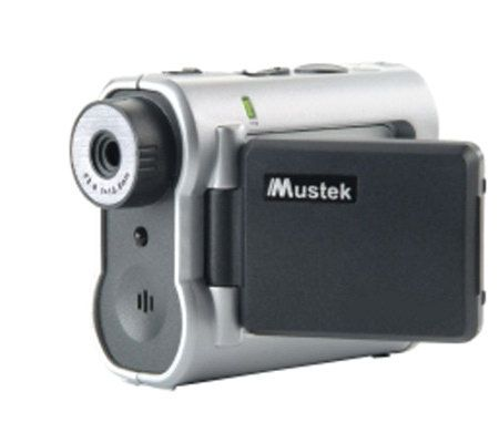 mustek dv3000 3 1mp multifunction digital camcorder qvc com rh qvc com