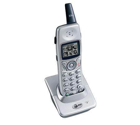 at t e5801 5 8ghz dss expansion handset w cidfor e5860 e5865 qvc com rh qvc com VTech Cordless Phones GE Cordless Phones