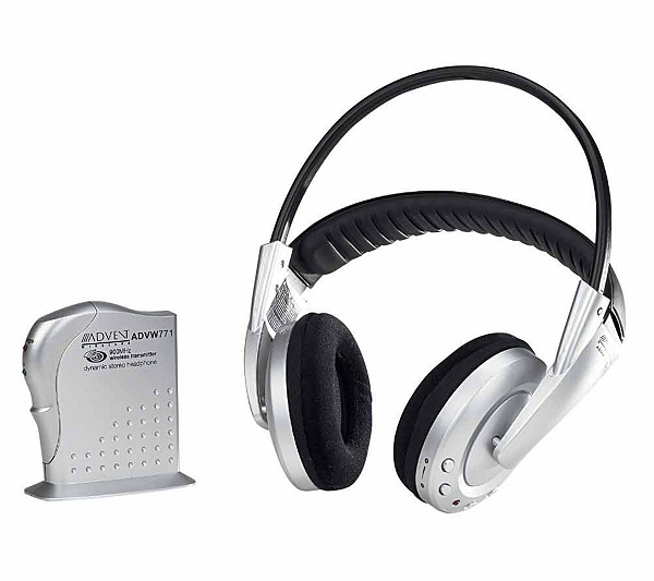 Advent ADVW771 900MHz Wireless Stereo Headphones W Auto Tuning Product Thumbnail In Stock
