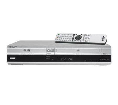 sony rdrvx515 dvd recorder vcr combo with one touch dubbing qvc com rh qvc com Sony Hi-Fi VCR DVD Recorder VHS Combo Player Record From VHS Sony DVD VCR Combo Codes