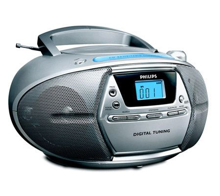 philips az1303 portable cd player with mp3 playback qvc com rh qvc com Sony Portable CD Player philips exp2546 portable mp3-cd player user manual