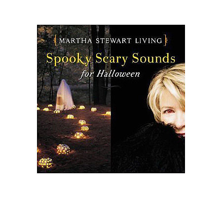 martha stewart spooky scary sounds for halloween cd qvccom