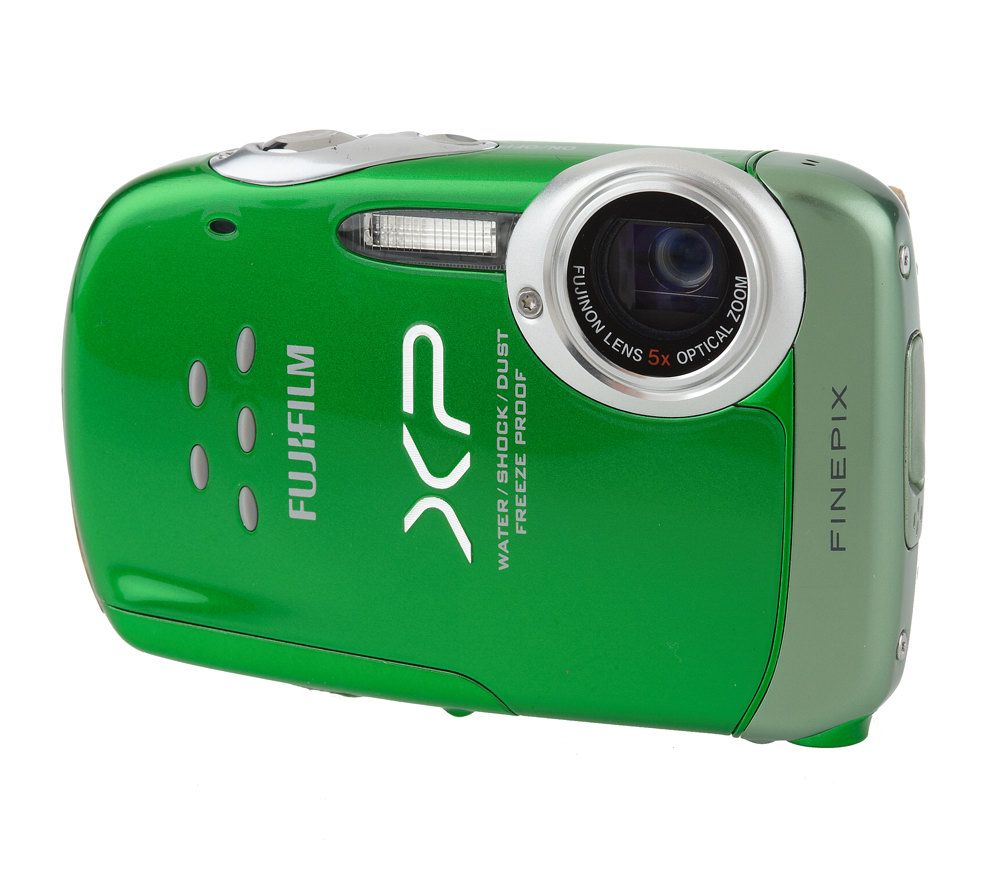 fuji finepix xp10 digital camera 12mp 5x zoom waterproof 2 7 lcd rh qvc com FinePix XP200 Fujifilm FinePix XP10 Battery Charger