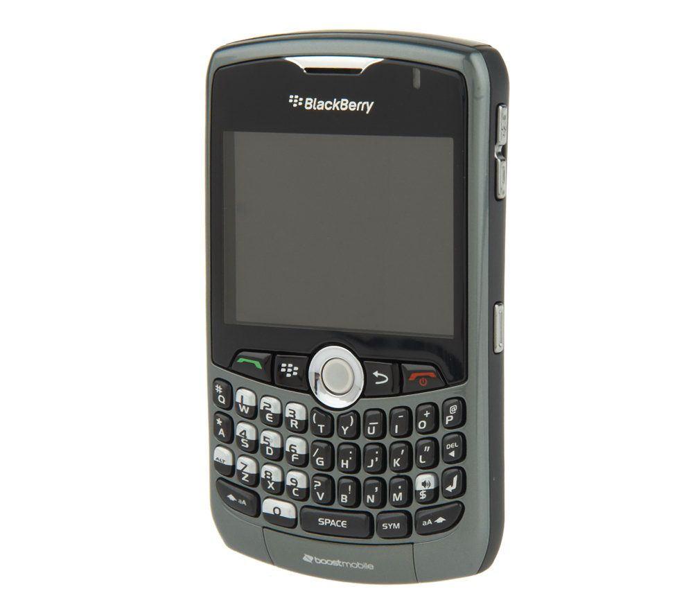 blackberry curve 8330 with 2mp camera car charger on boost network rh qvc com BlackBerry Curve 8310 AT&T BlackBerry Phones