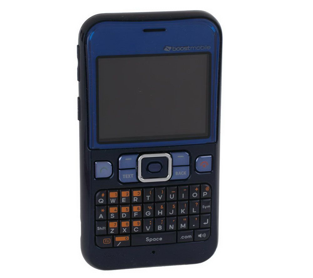 sanyo juno cell phone w boostmobile unlimited and 1 month free rh qvc com Boost Mobile Sanyo Innuendo Boost Mobile Sanyo Juno Software
