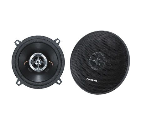 panasonic cja1323u 120w peak 5 1 4 pair of twoay speakers qvc com rh qvc com Panasonic Subwoofer Car Panasonic Car Radio CD Player