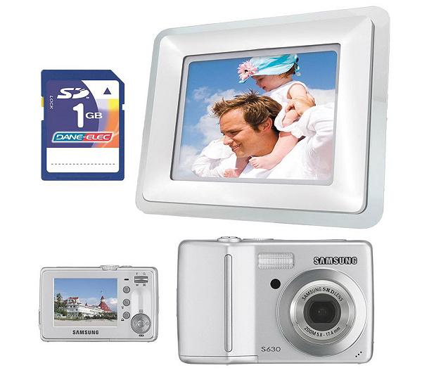 Samsung S630 6MP Camera,Coby 7\