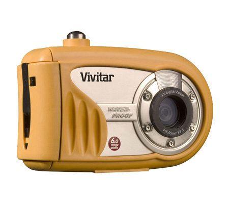 vivitar vivicam 6200w 6 0mp waterproof digitalcamera qvc com rh qvc com