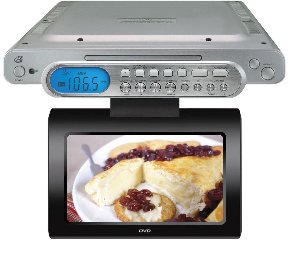 GPX KCLD8887DT Under Cabinet TV/DVD Combo U2014 QVC.com