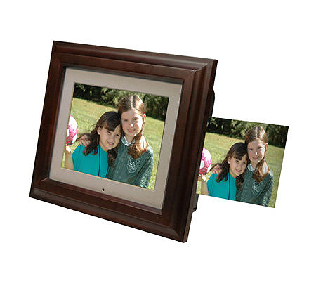 Smartparts 8 Digital Picture Frame With Built In Printer Qvc