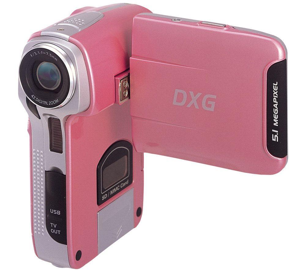 dxg 563v 5 1mp 2 4 diagonal lcd 4x digital camcorder pink qvc com rh qvc com dxg 3.0 megapixel digital camcorder manual dxg 3.0 megapixel digital camcorder manual