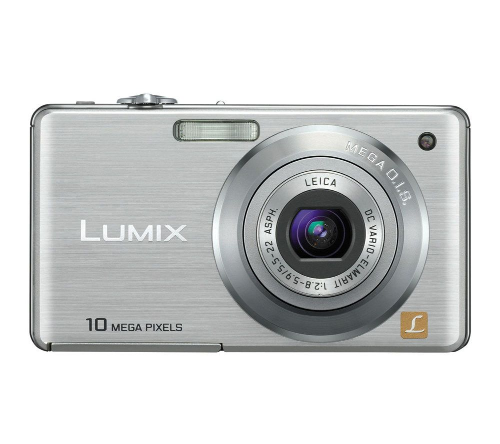panasonic lumix dmc fs7 10mp digital camera silvertone page 1 rh qvc com 24X Panasonic Lumix DMC Panasonic Lumix G