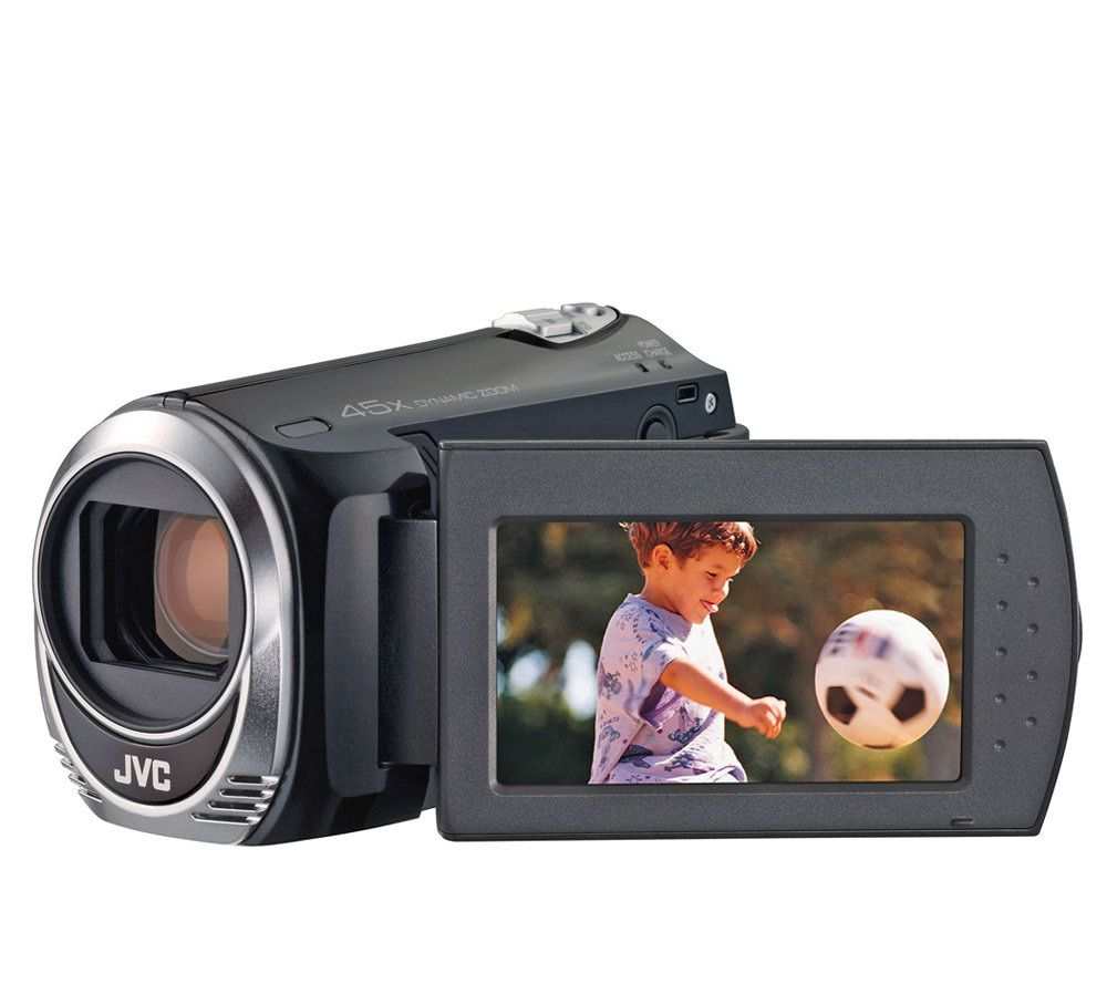 jvc everio s dig camcorder with 45x dynamic zoom and 2 7 lcd qvc com rh qvc com JVC Camcorder Accessories JVC Camcorder Power Supply 300 X