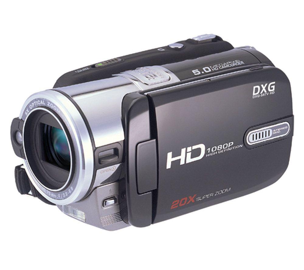 dxg 587v 1080p hd pro gear digital camcorder qvc com rh qvc com DXG Camcorder User Manual dxg 3.0 megapixel digital camcorder manual