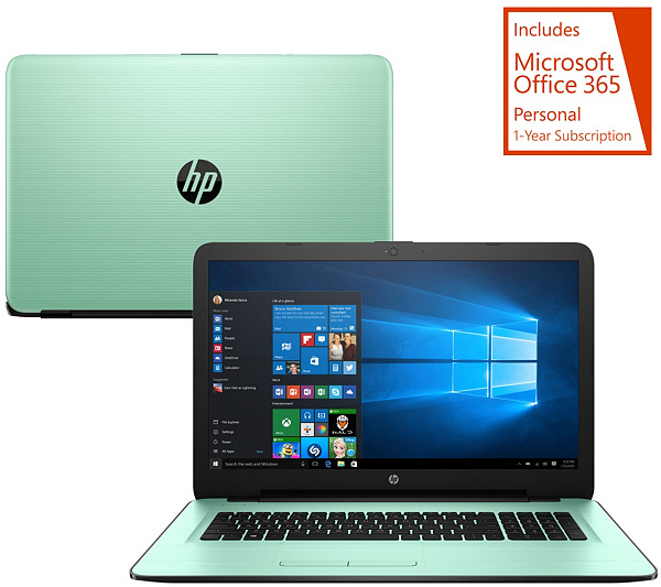 Hp 17 Laptop Intel Core I3 8gb Ram 1tb Hd Life Timetech Ms Office 365 Page 1 Qvc