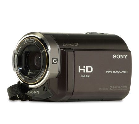 sony hdr cx350v 32gb flash memory hd w 12x optzoom camcorder qvc com rh qvc com Sony HDR CX3-80 Sony HDR MV-1