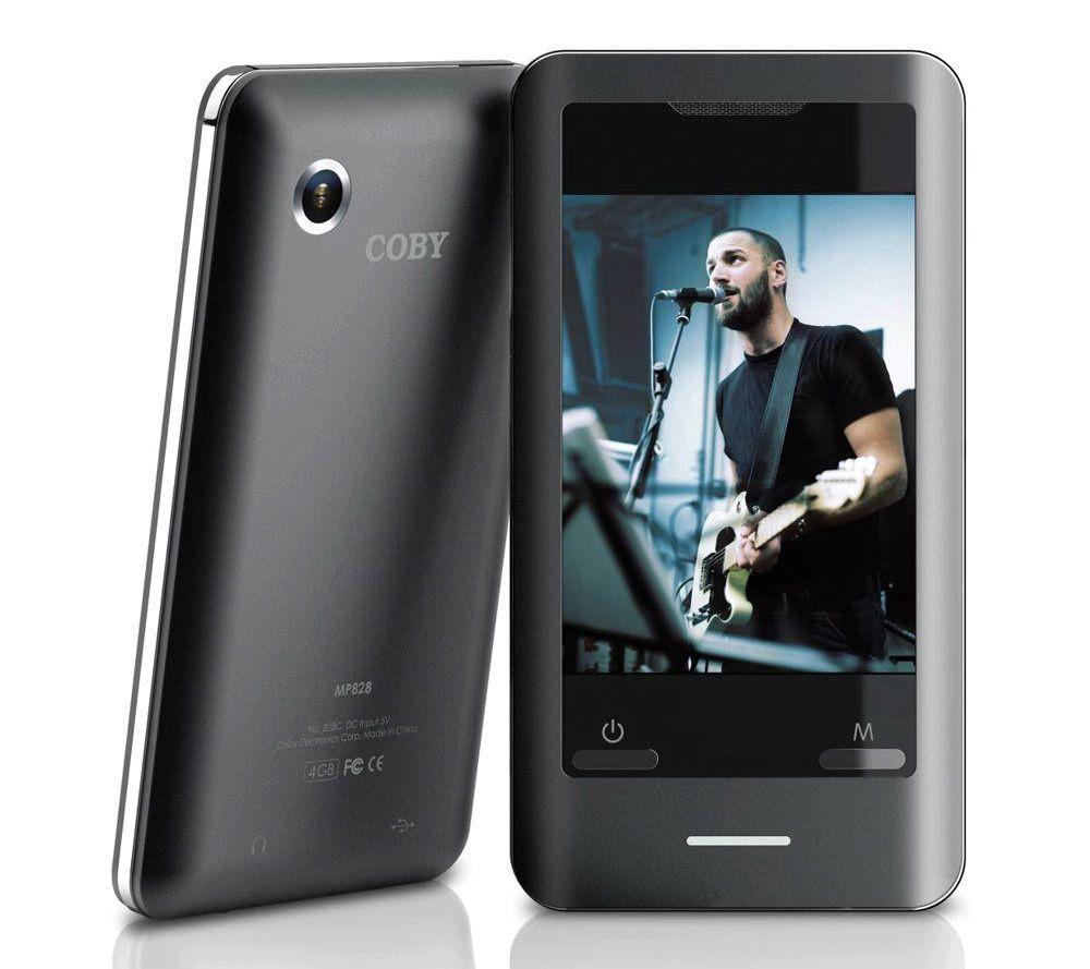 coby mp828 4g 4gb 2 8 touchscreen video mp3 player w camera page rh qvc com coby mp828 8g manual pdf Coby MP828 8GB Purple