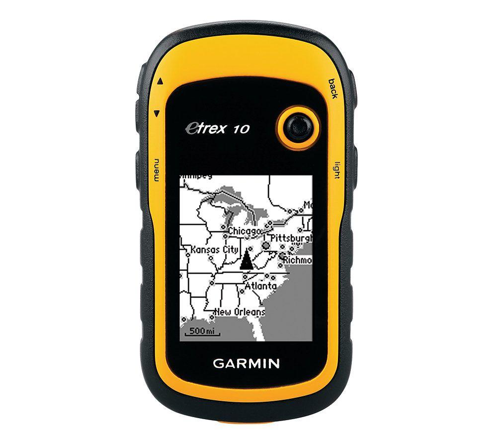 garmin etrex 10 handheld gps receiver qvc com rh qvc com garmin gps etrex 10 user manual manual gps garmin etrex 10 en español