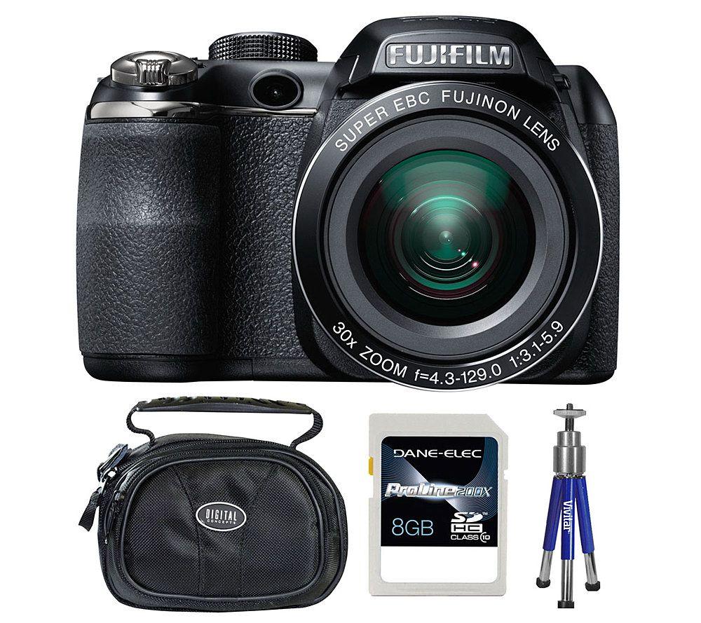 fujifilm finepix s4500 14mp 30x zoom digitalcamera bundle qvc com rh qvc com Fuji S4500 USB Cable a V Fujifilm S4500 Fisheye