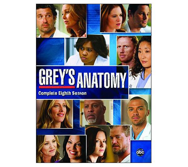 Greys Anatomy Season 8 Six Disc Set Dvd Page 1 Qvc