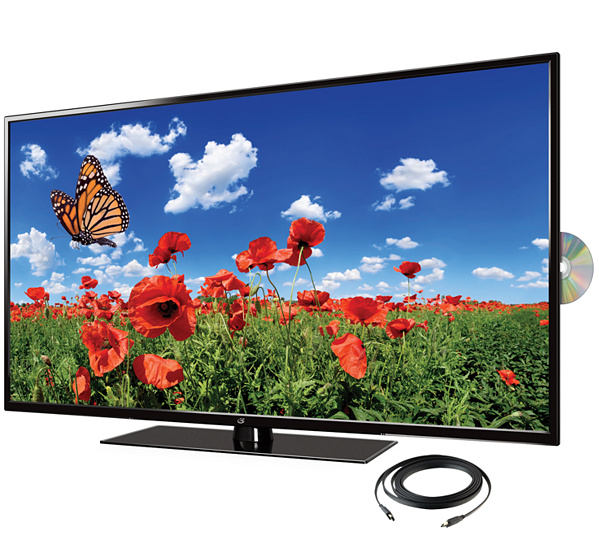 Gpx 50 1080p Dled Hdtv With Built In Upconvert Ing Dvd Player