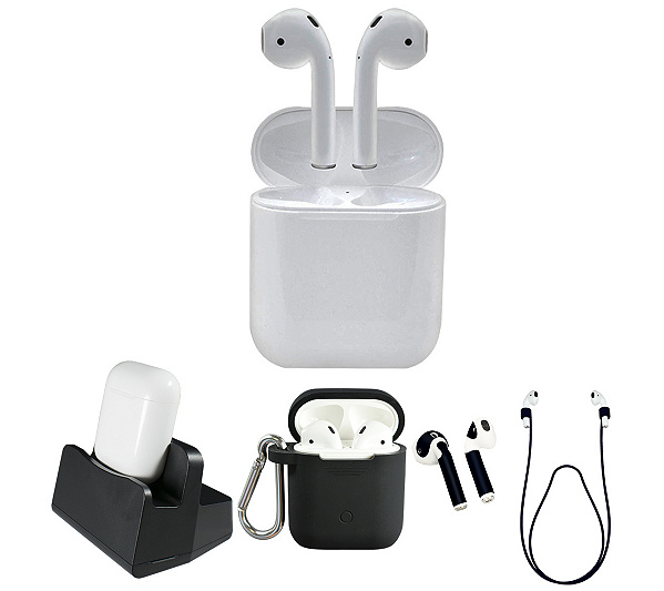 Apple Air Pods 2nd Generation With Charging Case&Amp; Accessories by Qvc