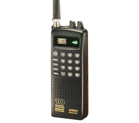 uniden bc60xlt handheld scanner 10 channel programmable qvc com rh qvc com Program Uniden Bearcat Scanner Frequency Uniden Bearcat Scanner Programming