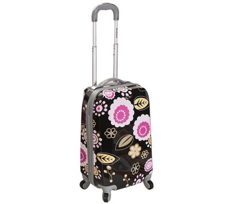 "Fox Luggage 20"" Carry On Spinner Luggage"