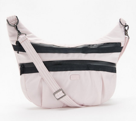 Lug Crossbody Shoulder Bag With Rfid Hippy