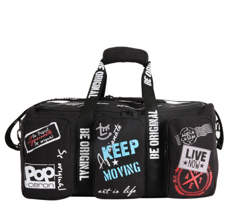 "Triforce Luggage 20"" Duffle -  Pop Urban Ceron"
