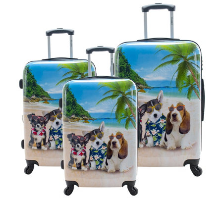 Chariot 3-Piece Luggage Set