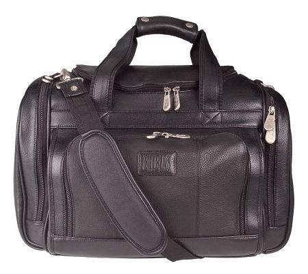 Bill Blass Napa Leather Duffle Style Club Bag