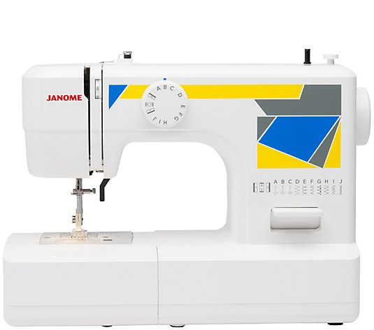 Janome Mod 11 Easy To Use Sewing Machine Qvc Com