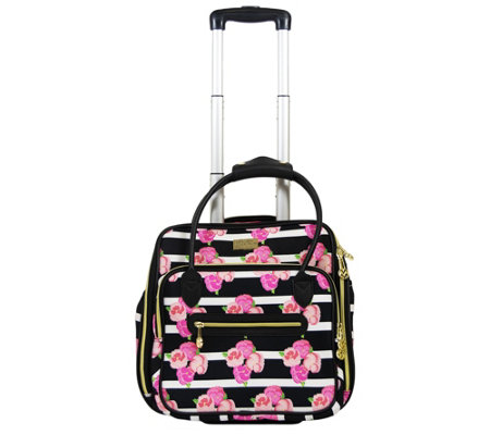 Macbeth Collection Petunia 16 Under Seat Rolling Luggage