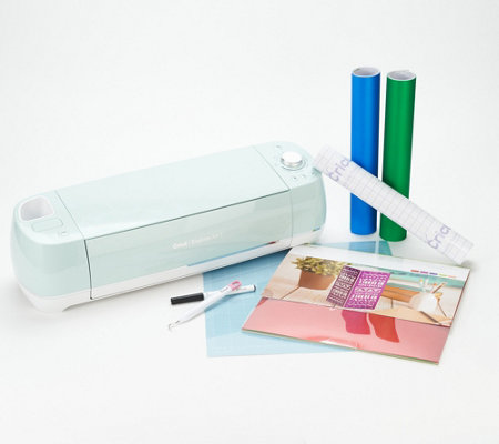 Cricut Mint Explore Air 2 Shimmer Bundle