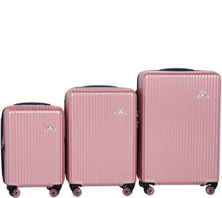 Triforce Luggage Set of 3 Spinner Luggage - Sobe