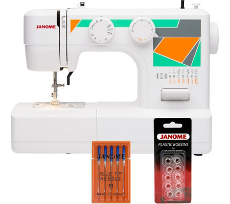 Janome MOD-15 Easy-to-Use Sewing Machine with Bundle