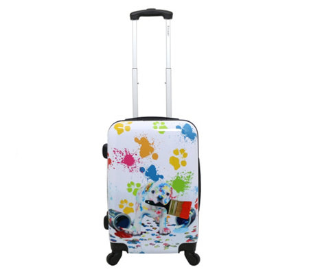 Chariot Painted 20 Carry On Hardside Luggage