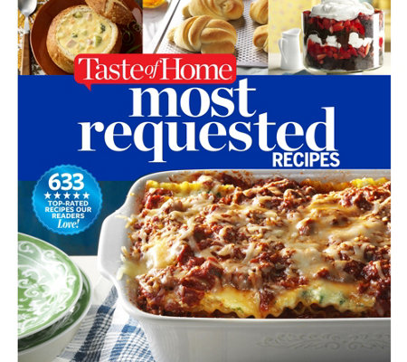 """Most Requested Recipes"" Cookbook by Taste of Home"