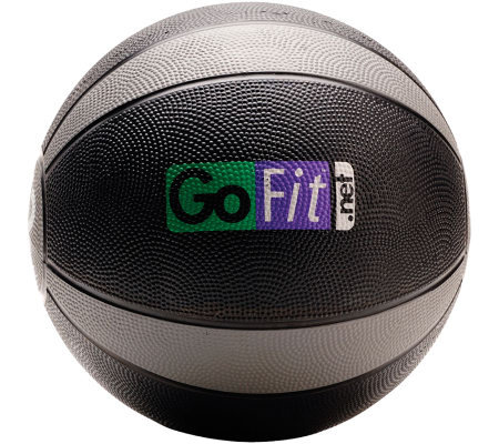 GoFit 12-lb Medicine Ball & Core Training DVD