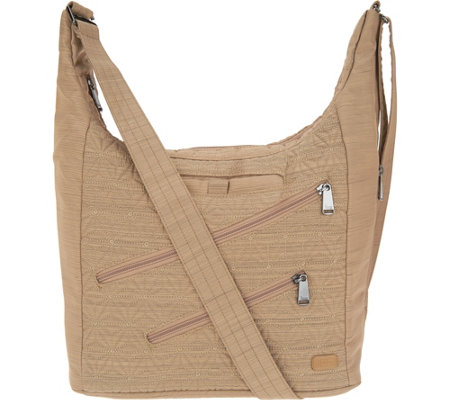 Lug Quilted Rfid Convertible Bucket Bag Jamboree