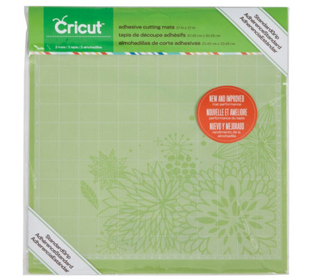 "Cricut 12"" x 12"" Standard Grip Cutting Mats, 2-Pack"